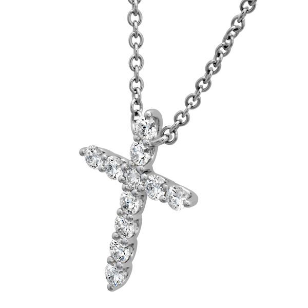 Hearts On Fire Signature Cross Image 2 Peter & Co. Jewelers Avon Lake, OH