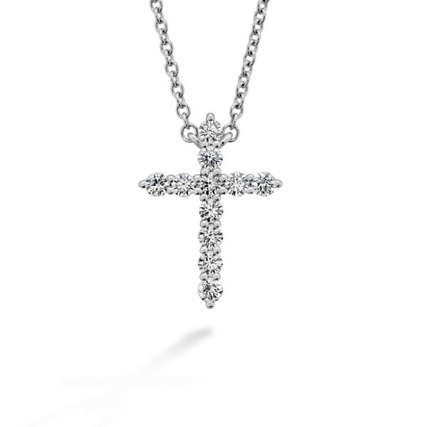 Hearts On Fire Signature Cross Peter & Co. Jewelers Avon Lake, OH