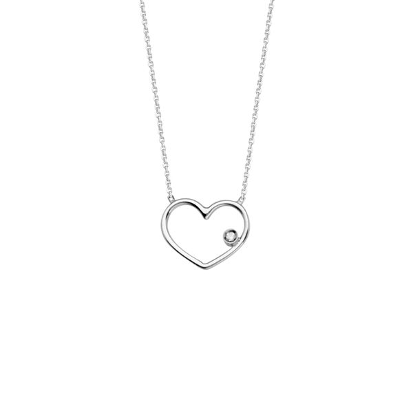 Heart Necklace with Diamond Accent Peter & Co. Jewelers Avon Lake, OH