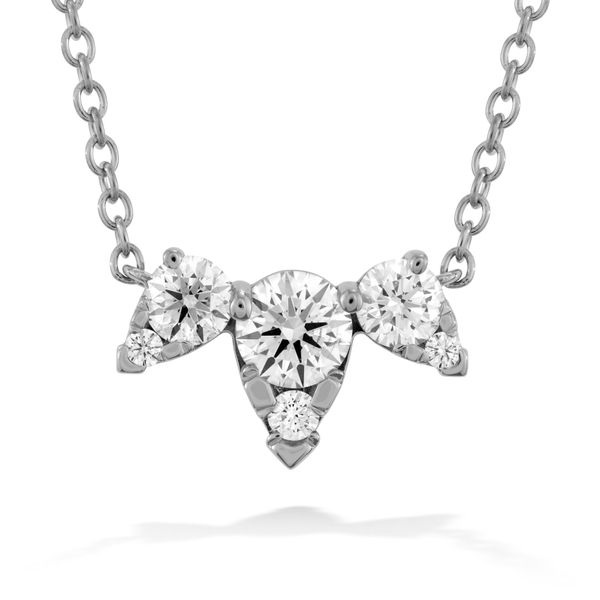 Aerial Triple Diamond Hearts On Fire Necklace Peter & Co. Jewelers Avon Lake, OH