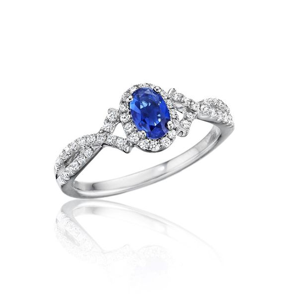 Sapphire and Diamond Ring Peter & Co. Jewelers Avon Lake, OH