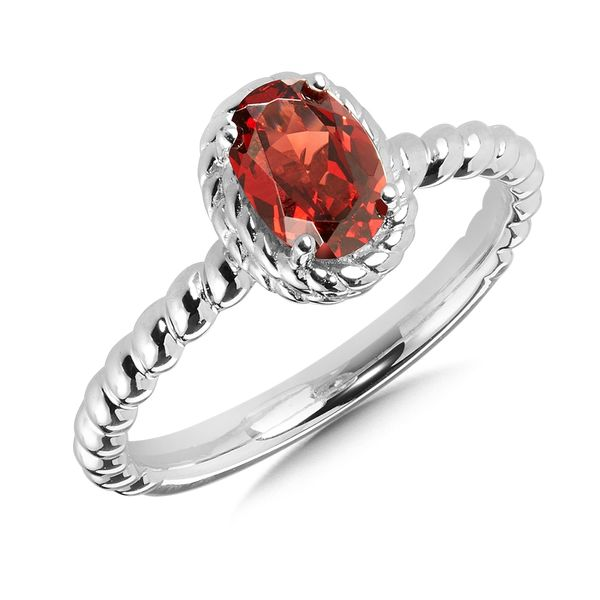 Oval Garnet Fashion Ring Peter & Co. Jewelers Avon Lake, OH