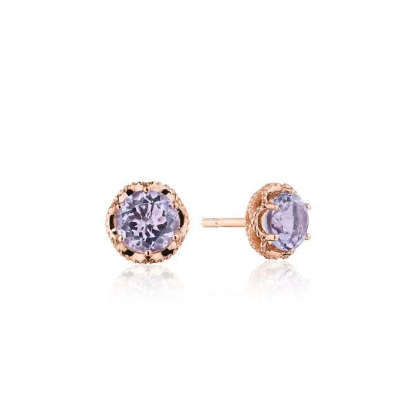 Rose Amethyst Tacori Earrings Peter & Co. Jewelers Avon Lake, OH