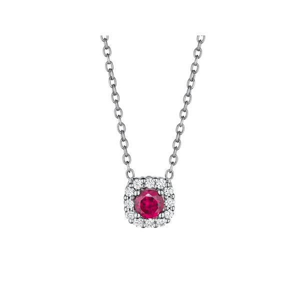 Ruby and Diamond Necklace Peter & Co. Jewelers Avon Lake, OH