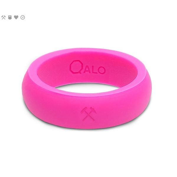 Size 7 Qalo Pink Silicone Ring Peter & Co. Jewelers Avon Lake, OH