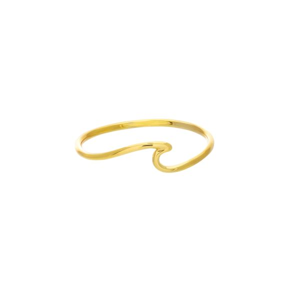 Yellow Gold Wave Ring Peter & Co. Jewelers Avon Lake, OH