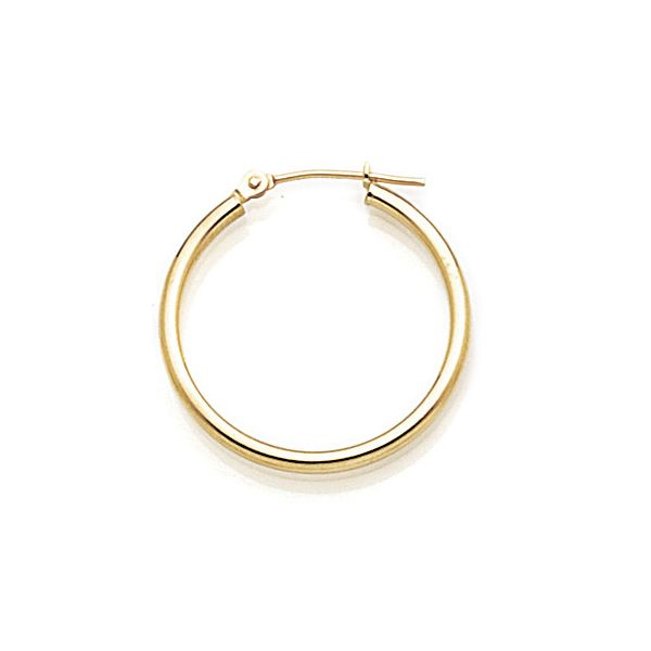 25mm Gold Hoop Earrings Peter & Co. Jewelers Avon Lake, OH