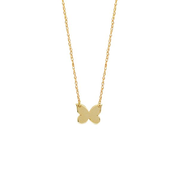 Butterfly Symbol Necklace Peter & Co. Jewelers Avon Lake, OH