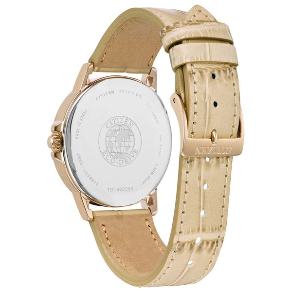 Eco-Drive Chandler Rose Gold-Tone Stainless Steel Womens Citizen Watch Image 2 Peter & Co. Jewelers Avon Lake, OH