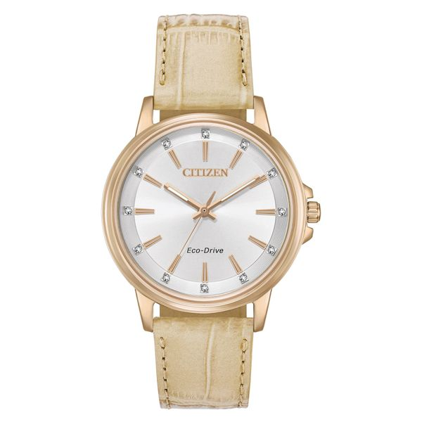 Eco-Drive Chandler Rose Gold-Tone Stainless Steel Womens Citizen Watch Peter & Co. Jewelers Avon Lake, OH