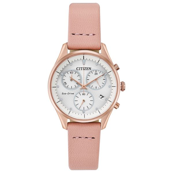 Citizen Eco-Drive Ladies' Chandler Rose Tone Watch Peter & Co. Jewelers Avon Lake, OH