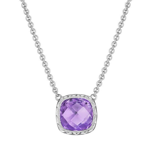 Amethyst Cushion Tacori Necklace Peter & Co. Jewelers Avon Lake, OH