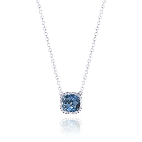London Blue Topaz Tacori Necklace Peter & Co. Jewelers Avon Lake, OH