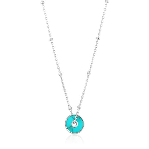 Turquoise Disc Ania Haie Necklace Peter & Co. Jewelers Avon Lake, OH