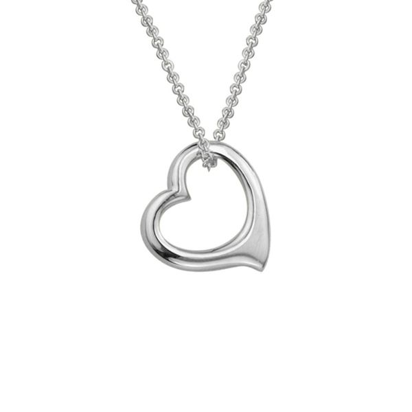 Floating Heart Necklace Peter & Co. Jewelers Avon Lake, OH