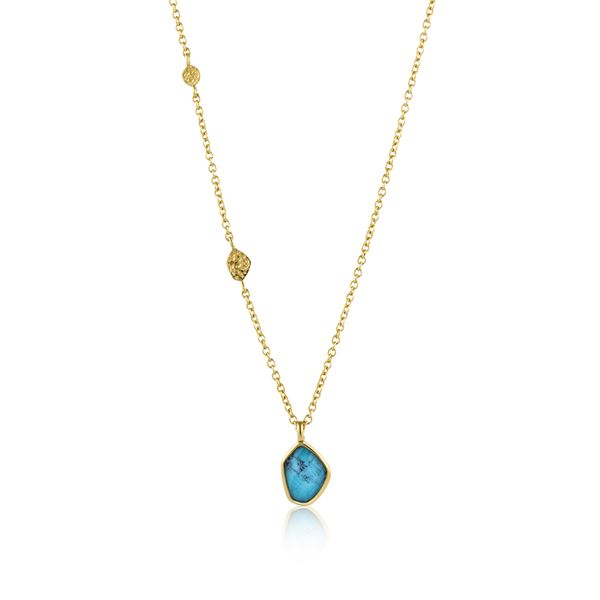 Ania Haie Turquoise Pendant Necklace Peter & Co. Jewelers Avon Lake, OH