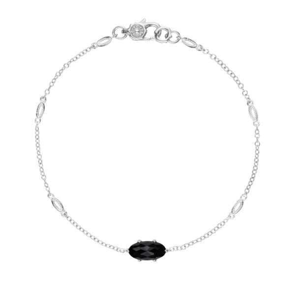 Solitaire Black Onyx Tacori Bracelet Peter & Co. Jewelers Avon Lake, OH