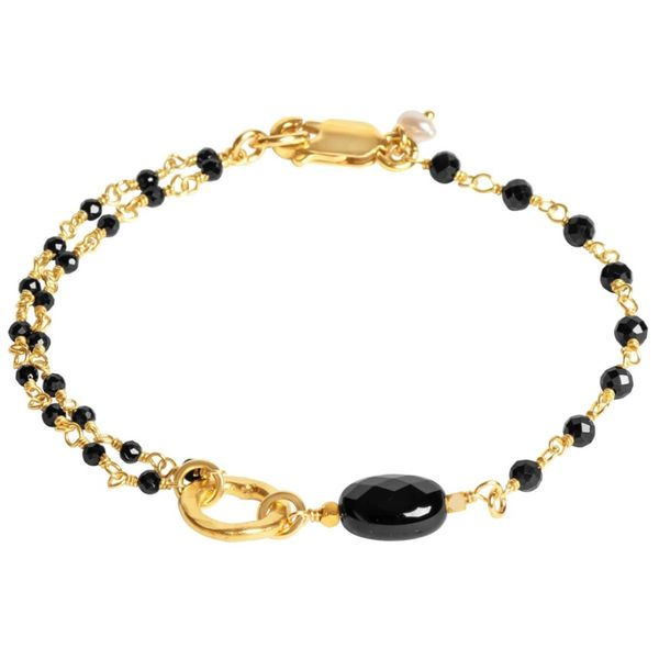 Tracy Arrington Black Spinel Bracelet Peter & Co. Jewelers Avon Lake, OH
