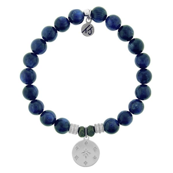 Prayer Kyanite Bead Bracelet Peter & Co. Jewelers Avon Lake, OH