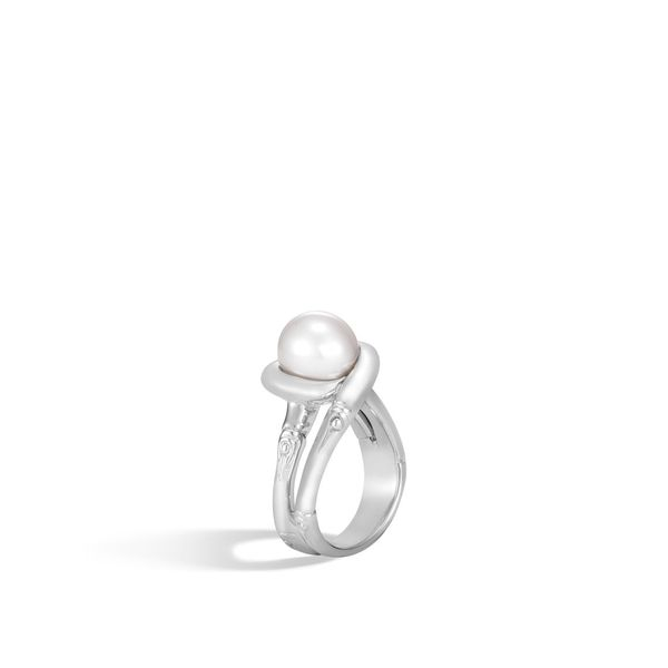 John Hardy Pearl Bamboo Ring Peter & Co. Jewelers Avon Lake, OH