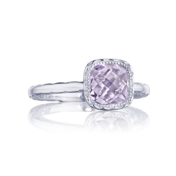 Amethyst Crescent Embrace Tacori Ring Peter & Co. Jewelers Avon Lake, OH