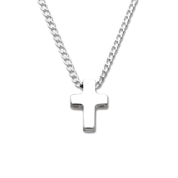Tiny Cross Pendant Necklace Peter & Co. Jewelers Avon Lake, OH