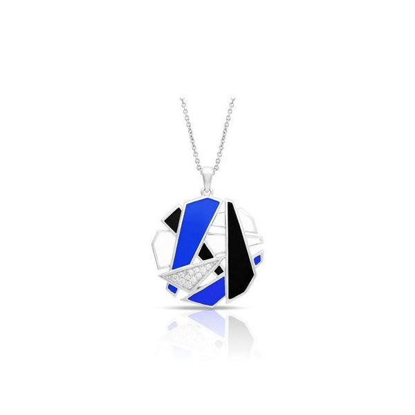 Spectrum Blue Belle Etoile Pendant Peter & Co. Jewelers Avon Lake, OH