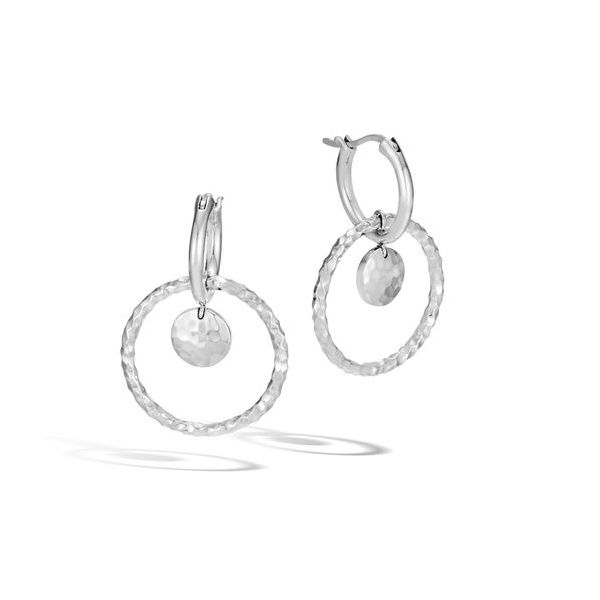 Interlock Drop John Hardy Earrings Peter & Co. Jewelers Avon Lake, OH