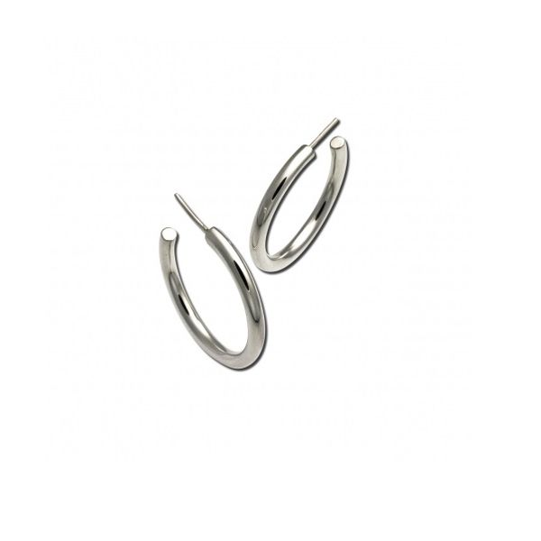 Sterling Silver Hoop Earrings Peter & Co. Jewelers Avon Lake, OH