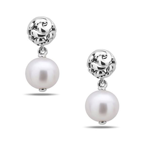 Charles Krypell Pearl Earrings Peter & Co. Jewelers Avon Lake, OH