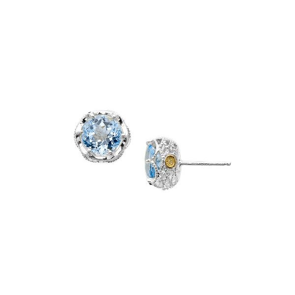 Sky Blue Topaz Tacori Earrings Peter & Co. Jewelers Avon Lake, OH
