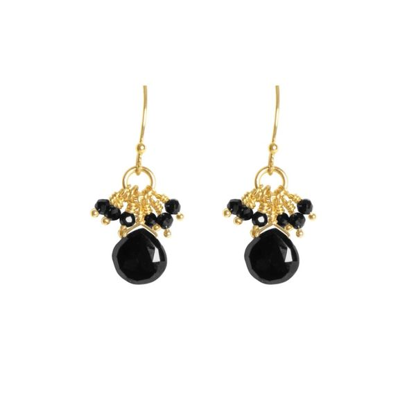 Tracey Arrington Black Spinel Earrings Peter & Co. Jewelers Avon Lake, OH
