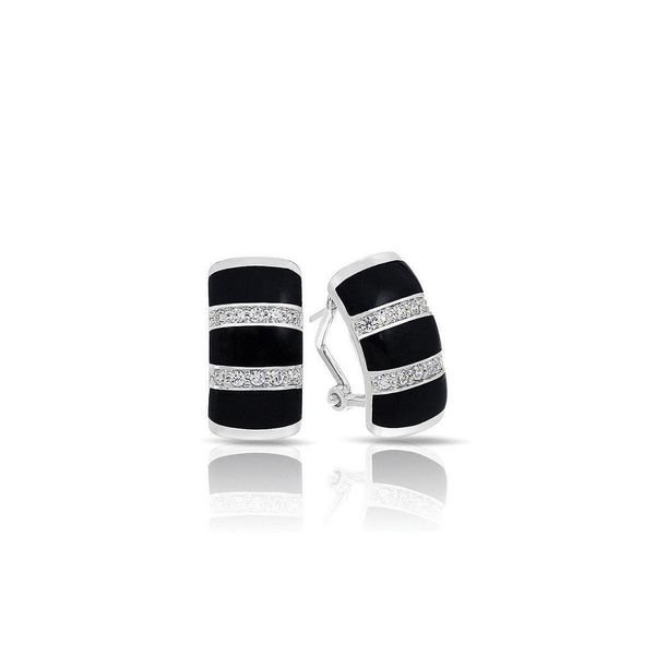 Regal Stripe Belle Etoile Earrings Peter & Co. Jewelers Avon Lake, OH