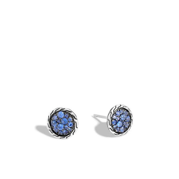 John Hardy Blue Sapphire Earrings Peter & Co. Jewelers Avon Lake, OH