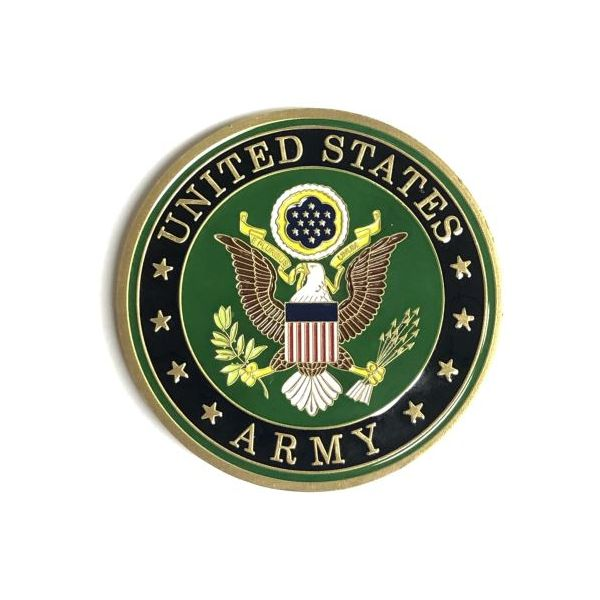 Us Army Challenge Coin Pineforest Jewelry, Inc. Houston, TX