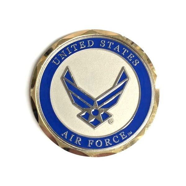 US Air Force Challenge Coin Pineforest Jewelry, Inc. Houston, TX