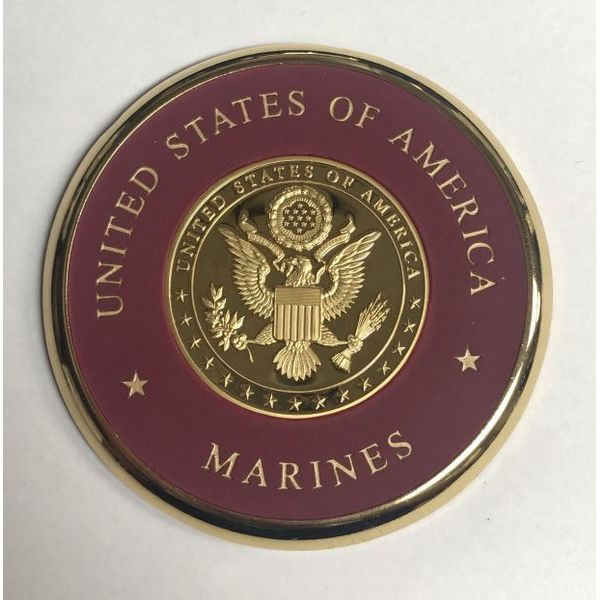 USA Marines Coaster Pineforest Jewelry, Inc. Houston, TX