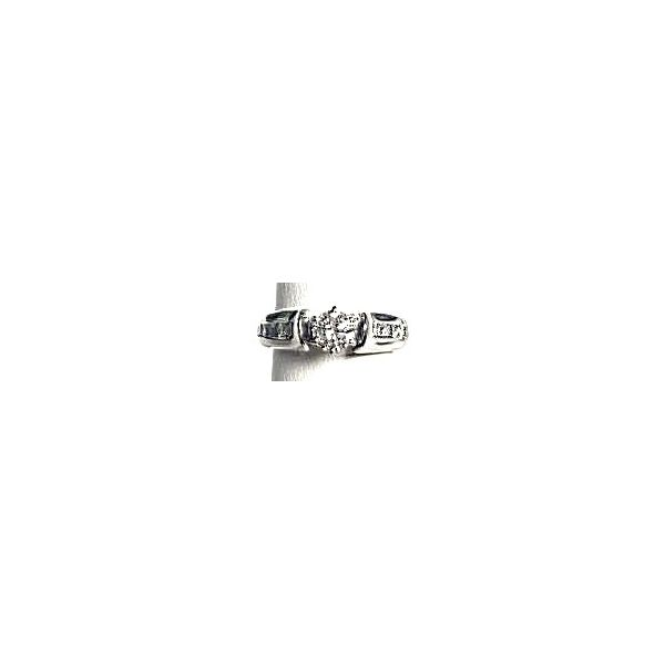 14KW RBC Diamond engagement ring .40ct K/SI Pineforest Jewelry, Inc. Houston, TX