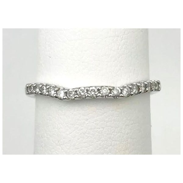 14KW .19ctTW H/SI1 RBC Wedding band Pineforest Jewelry, Inc. Houston, TX