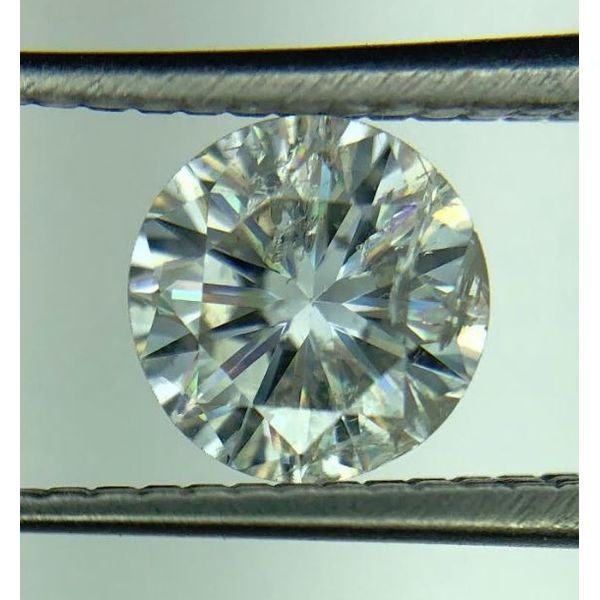 Fire Polish 0.87ct RBC H/I1 Diamond Pineforest Jewelry, Inc. Houston, TX