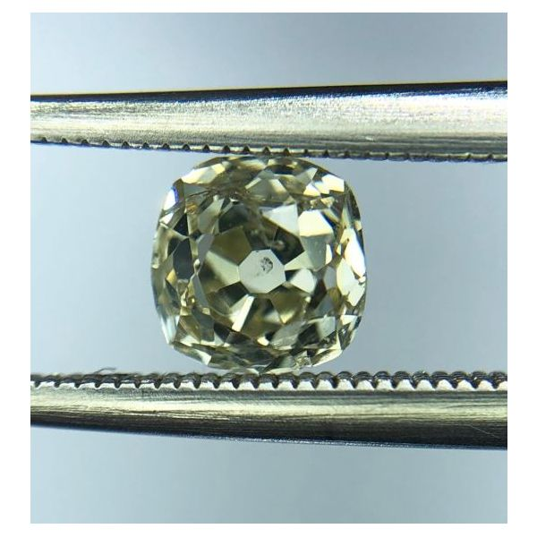 .52ct O-P/I2 Antique Rose-Cut Diamond Pineforest Jewelry, Inc. Houston, TX