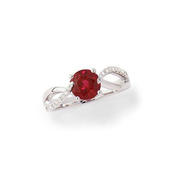 14KW Chatham Ruby Ring Pineforest Jewelry, Inc. Houston, TX