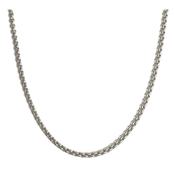 Titanium Squared Cable Link Chain Pineforest Jewelry, Inc. Houston, TX