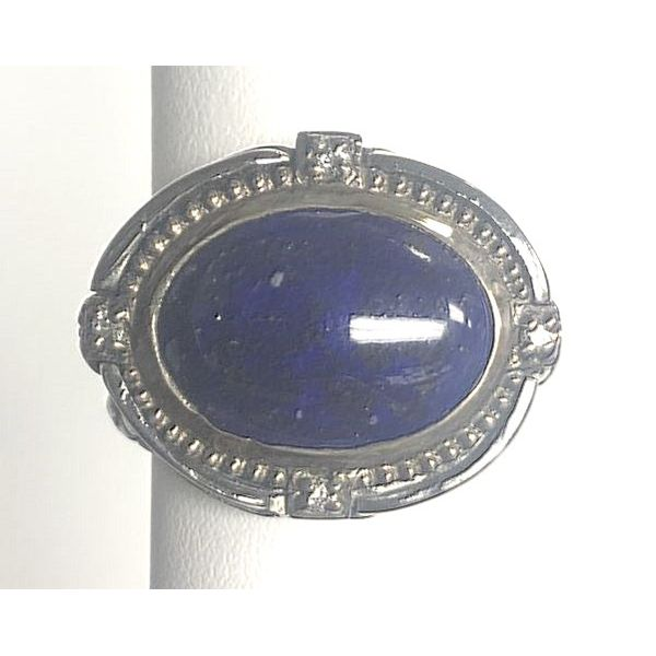 Guardian Lapis Ring Pineforest Jewelry, Inc. Houston, TX