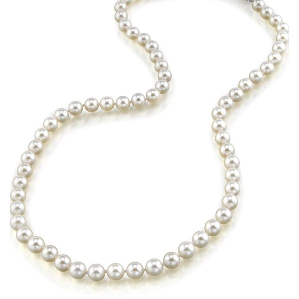 14KY AAA  Quality 6-6.5MM Freshwater Pearl Strand 30in Pineforest Jewelry, Inc. Houston, TX