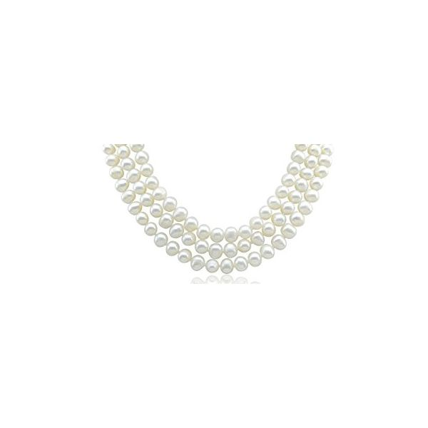 110 Inch Pearl Necklace Pineforest Jewelry, Inc. Houston, TX