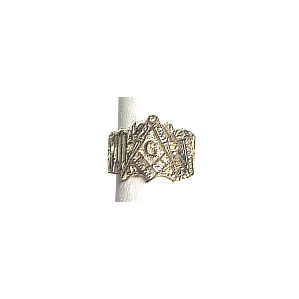 10KY Custom Masonic Ring by Pineforest Jewelry Size:10 Weight:14.8gr Pineforest Jewelry, Inc. Houston, TX