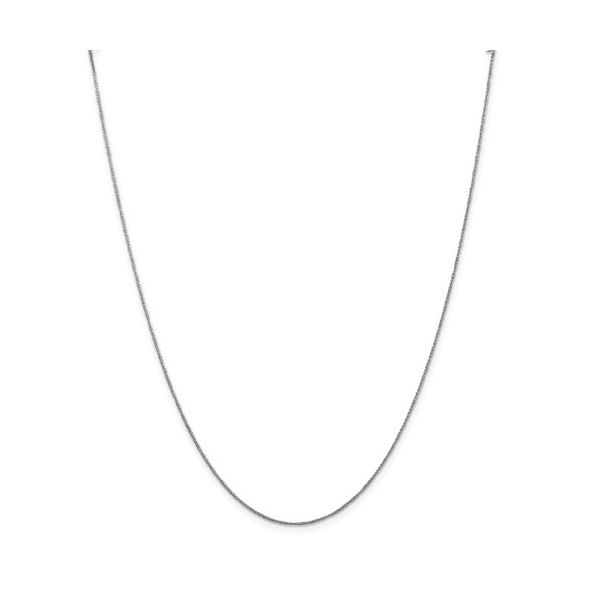 14K White Gold .70mm Rope Chain 20in Pineforest Jewelry, Inc. Houston, TX