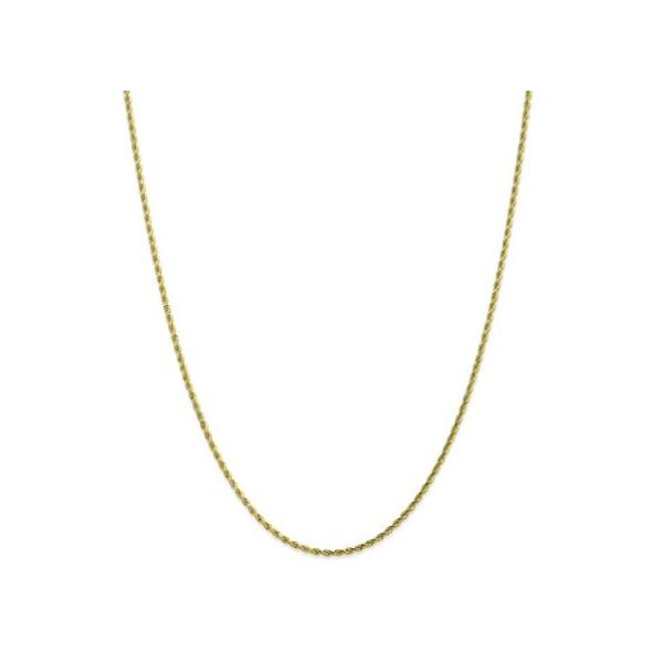 14KY 1.25mm Rope Chain 19in Pineforest Jewelry, Inc. Houston, TX