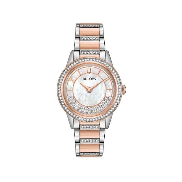 Ladie's TurnStyle Bulova Watch Pineforest Jewelry, Inc. Houston, TX